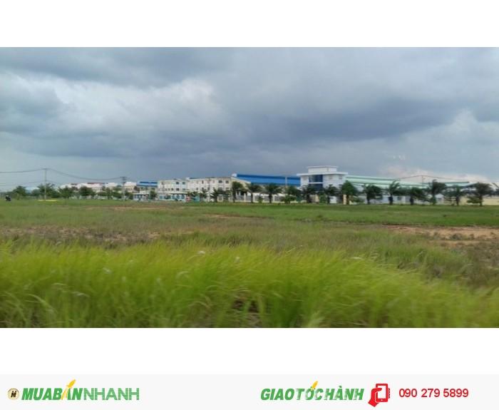 Đất mặt tiền,thổ cư ngay KCN Tân Đô