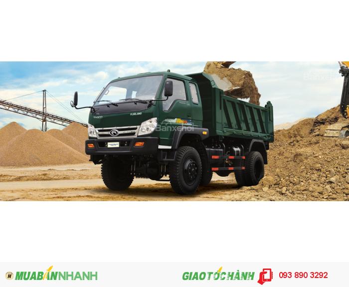 Xe ben Forland FLD420C 4,2 tấn, bán trả góp
