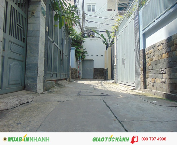 Bán nhà hẻm 3m đường Lê Văn Sỹ, P.13, Phú Nhuận 73m2 giá 4,1 tỷ (TL)