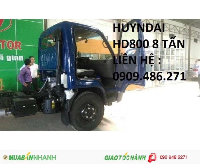Hyundai Hd800 Tải Trọng 8 Tấn Hàng Hot Với Mọi Người,Giá Rẻ Nhất 1