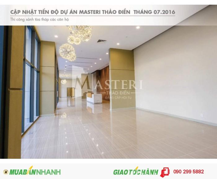 Bán CH Masteri Q2 giá từ 1.75 tỷ, bao sang tên, cam kết cho thuê lại với giá tốt nhất.