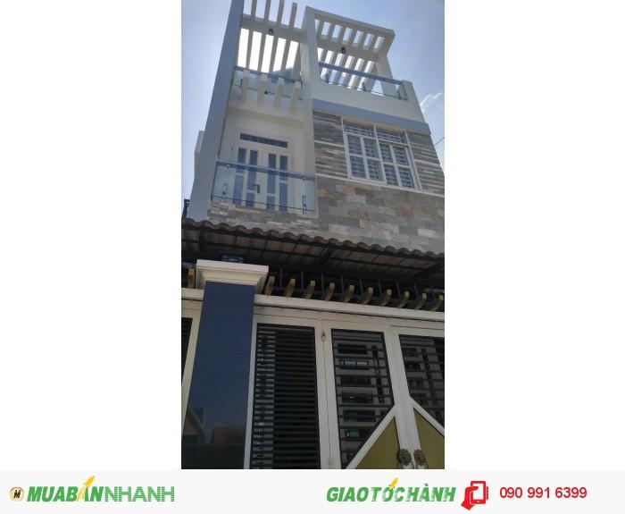 Nhà 3 tầng , 3 PN, DTSD : 87m2, hẻm XH, Ng.Văn Tạo