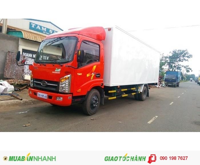 Xe tải veam vt260 1t9 xe chày vào đường cấm tải dưới  5 tấn