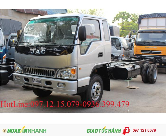 Xe tải JAC 8 tấn thùng  5.7 m. hót nhất thị trường!!!!!!