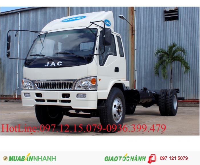 Xe tải JAC 8.4 - 9.1 tấn thùng 7.3 m