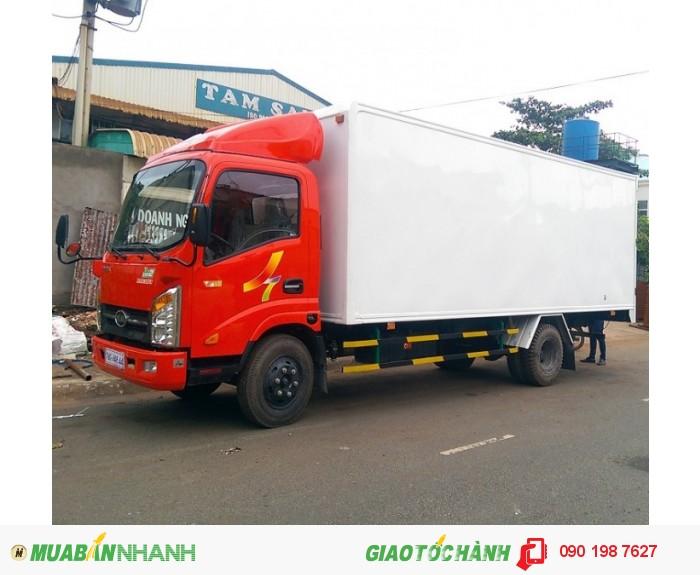 Xe tải veam vt260 1 tấn 9 -xe chạy vào giờ cấm tải | xe tải veam 1 tấn 9 thùng dài 6m2 động cơ hyundai