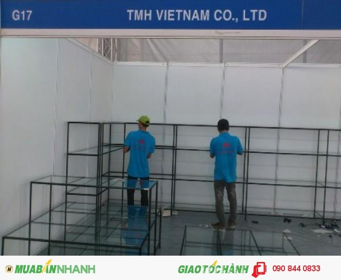 Kệ trưng bày sản phẩm, không hàn cố định, không gắn ốc vít, kệ lắp ráp Việt Cường Phát6