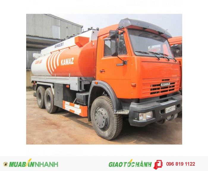 Xe Bồn chuyên dụng chở xăng dầu Kamaz 53229