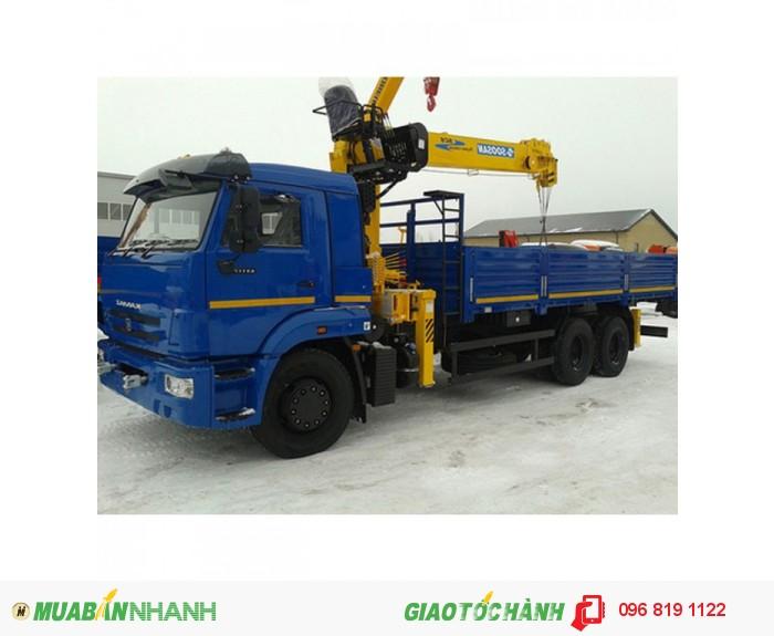 Xe tải cẩu Kamaz 65117