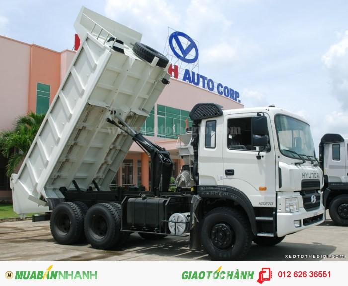 Hyundai HD270 thùng ben 10m3 hỗ trợ vay và trả góp lãi suất thấp, 2