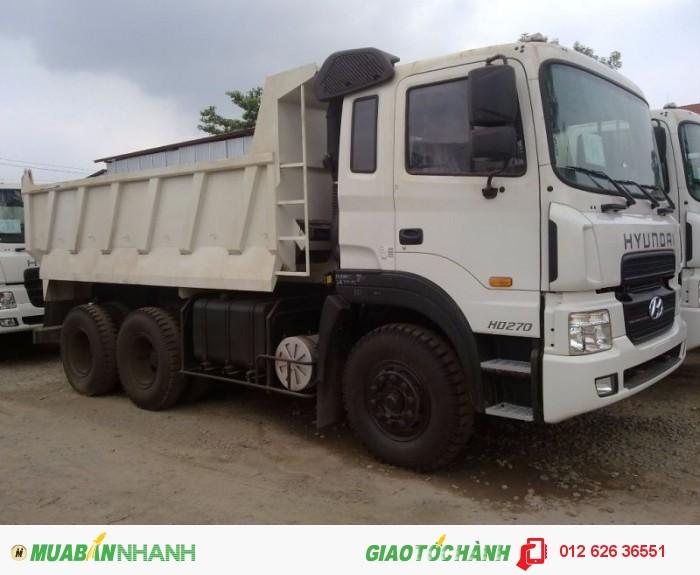 Hyundai HD270 thùng ben 10m3 hỗ trợ vay và trả góp lãi suất thấp, 3