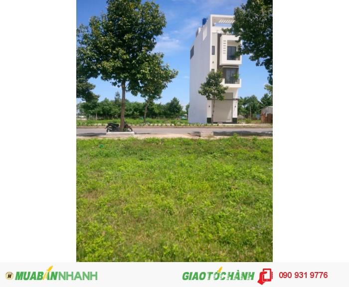 KĐT Ven Sông Vàm Cỏ giá thấp nhất trong khu hành chính tỉnh 6tr/m2 đường 30m, có sổ, XD ngay