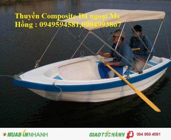 Thuyền Composite dã ngoại 4-6 người