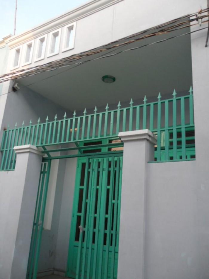 Nhà 1 lầu 50m2 SHR,bao sang tên,hoàn công,đường C3 hóc môn