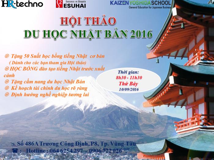 hội thảo du học Nhật Bản 2017