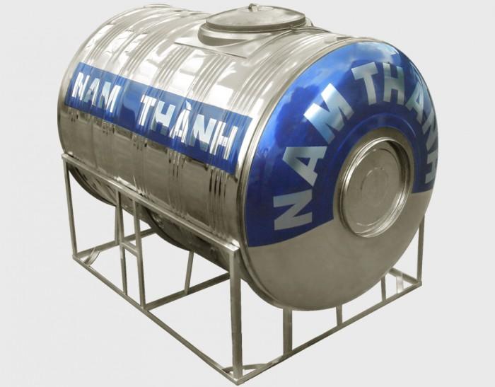 Bồn nước Inox: Bồn nằm - 1.500 lít
