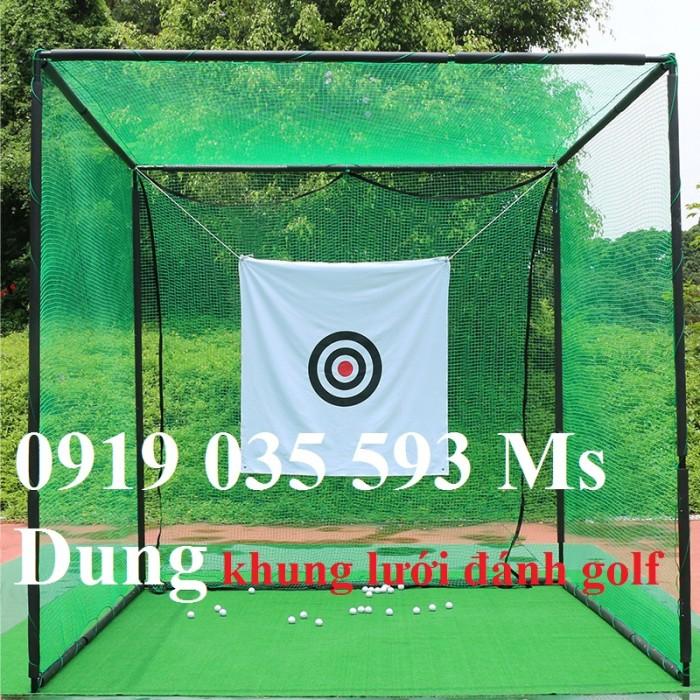 Lưới golf mắt 2.5cm bằng nhựa PE, màu xanh ngọc, xanh nhạt