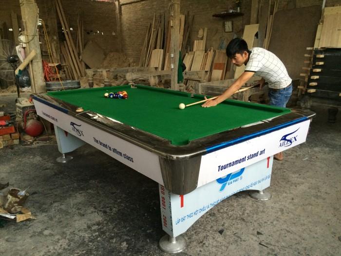 Bàn Aileex 9018 màu trắng - Billiards Trịnh Uyển