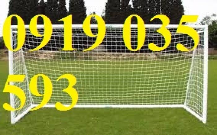 Lưới bóng đá dạng sợi xoắn các loại , lưới nhựa vây sân bóng đá