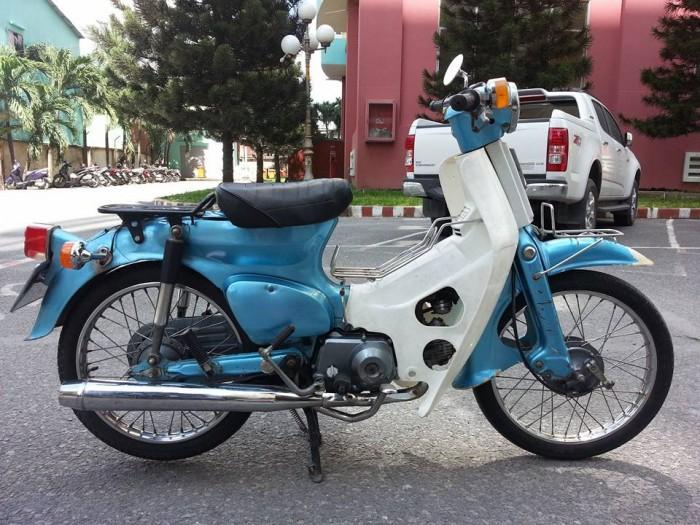 Honda Cub các loại sản xuất năm 1986