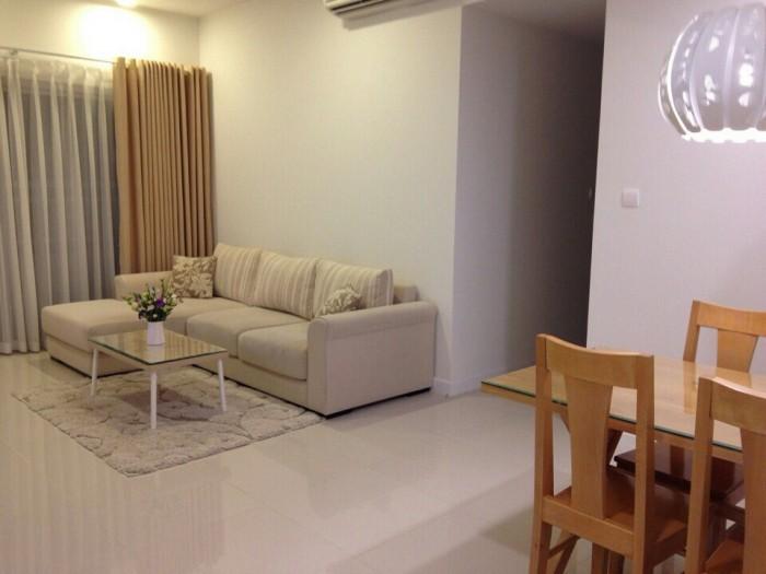 Định cư nước ngoài cho thuê nhanh căn hộ Sunrise City, 1PN 56m2 giá 600$, bao phí quản lý