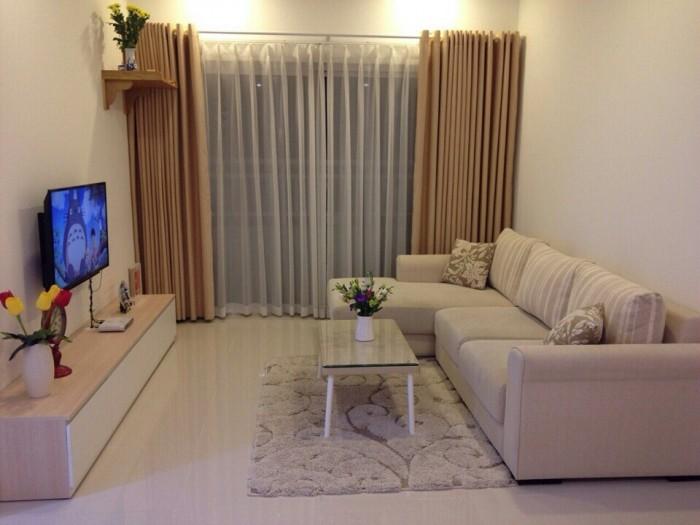 Cho thuê gấp CH Sunrise City 3PN, 125m2 giá 1100$, nội thất đầy đủ, căn góc