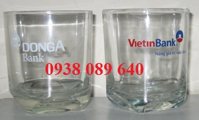Ly chén thủy tinh in logo doanh nghiệp giá rẻ, 3