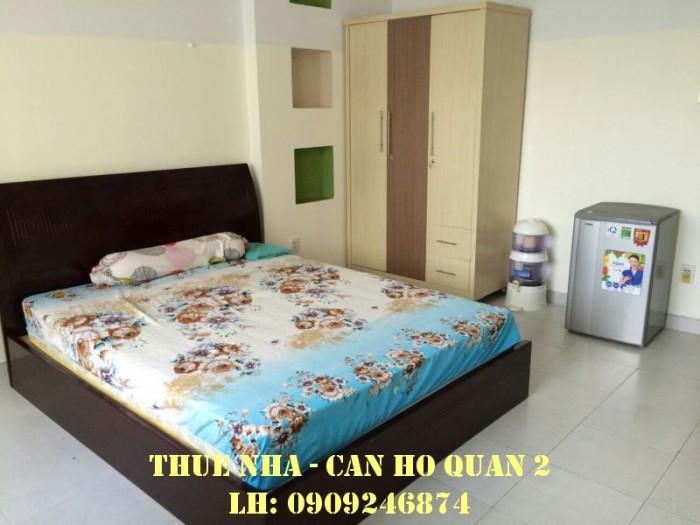 Cho thuê phòng ở cao cấp gần cầu Sài Gòn sau Metro Q2, full NT giá 4tr/tháng