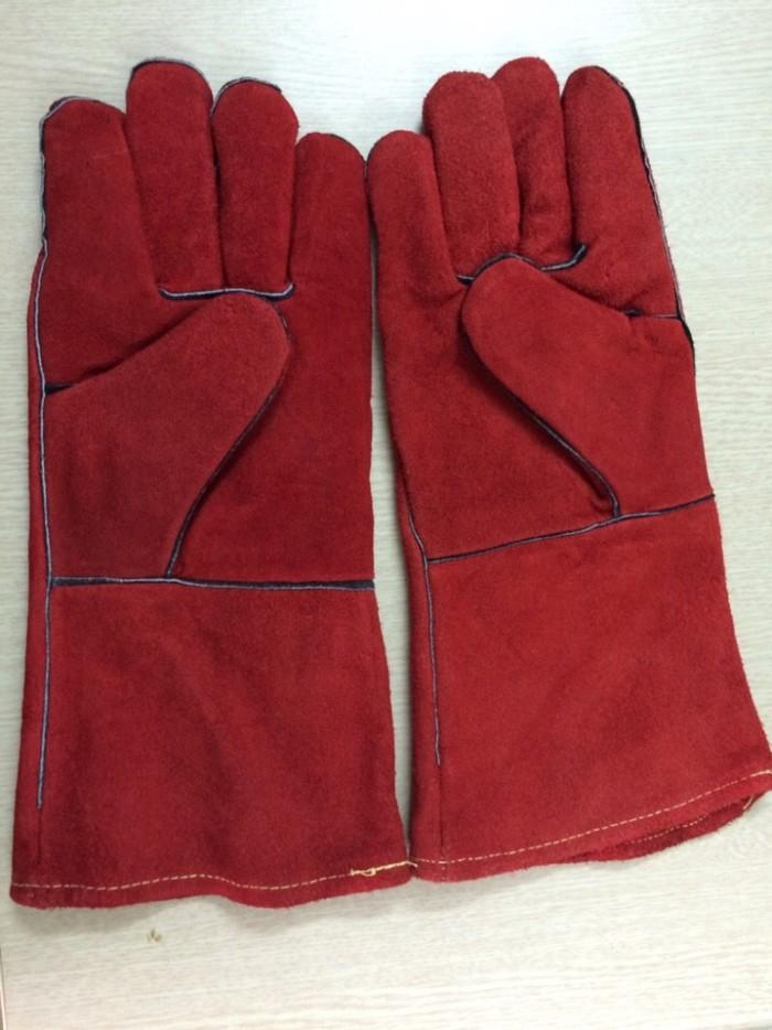 Găng tay da cho thợ hàn Điện/MIG/MAG