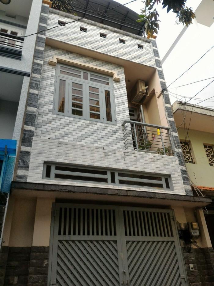 Bán Nhà Hẻm Xe Hơi Gò Dầu, DT: 4 x 20M, 2.5 Tấm, H/ Tây, Giá: 3.850Tỷ.