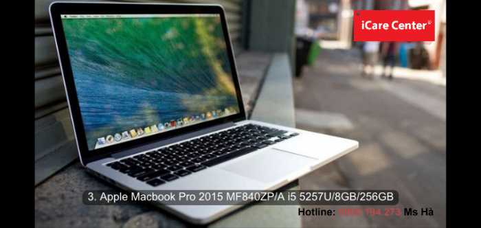 3. Apple Macbook Pro 2015 MF840ZP/A i5 5257U/8GB/256GB