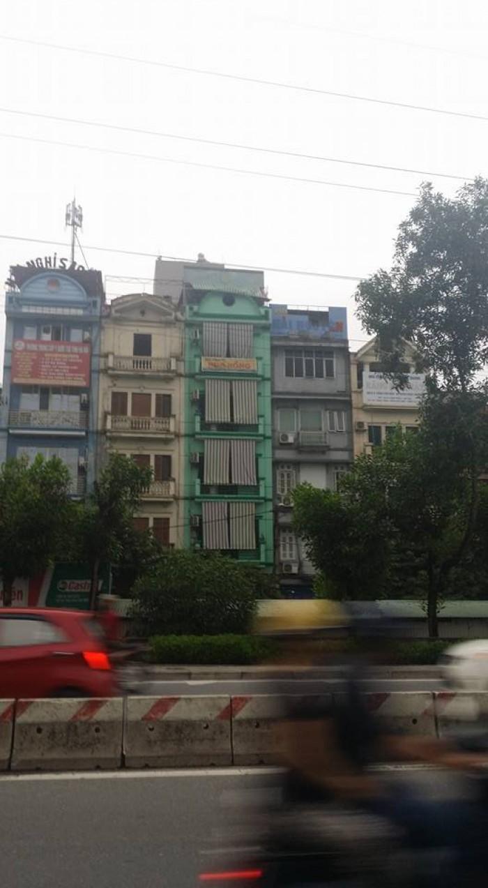 Bán nhà phân lô Đầm Trấu,mặt phố Nguyễn Khoái: Dt50/64m2x7 tầng,MT4.8m,10.7 tỷ