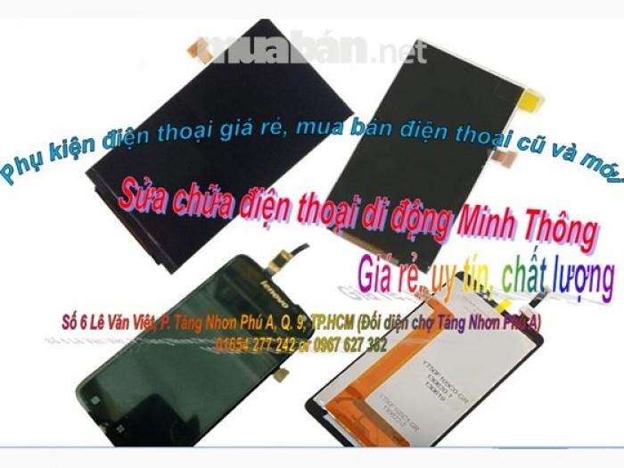 Sửa chữa điện thoại di động, thay màn hình cảm ứng, buôn bán phụ kiện điện thoại Minh Thông