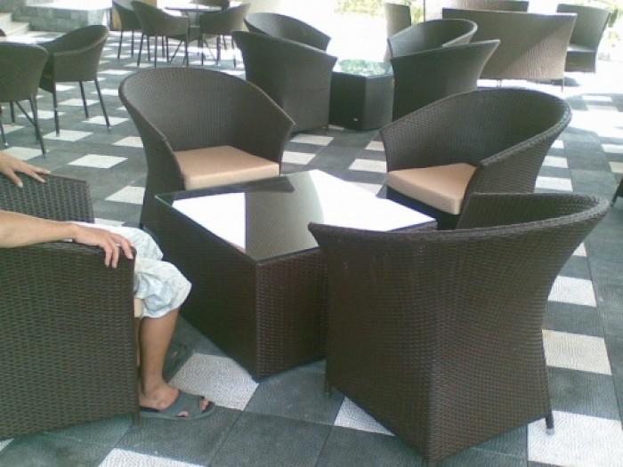 Bàn ghế càfe thông Dung giá rẻ