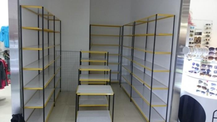 Kệ lắp ráp,trưng bày sản phẩm tháo ráp dễ dàng, sắt sơn tĩnh điện Việt Cường Phát9