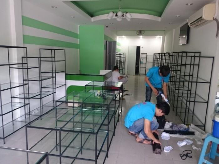 Kệ lắp ráp,trưng bày sản phẩm tháo ráp dễ dàng, sắt sơn tĩnh điện Việt Cường Phát10