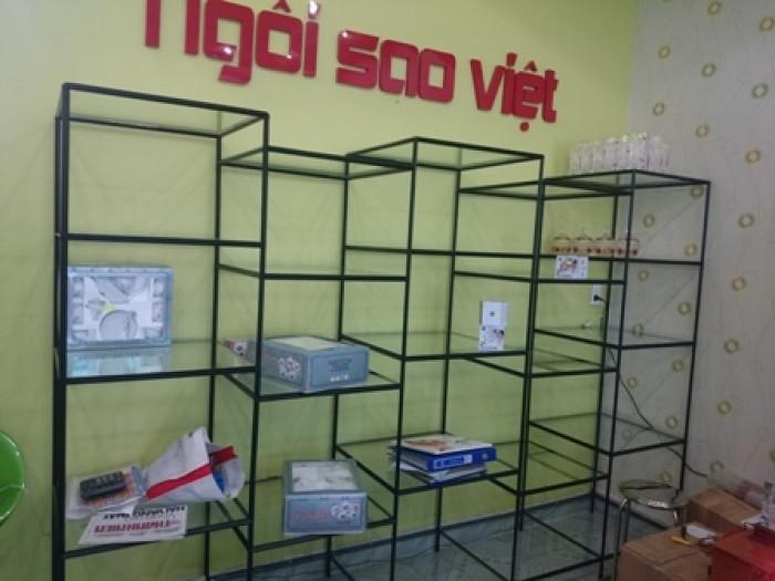 Kệ lắp ráp,trưng bày sản phẩm tháo ráp dễ dàng, sắt sơn tĩnh điện Việt Cường Phát11