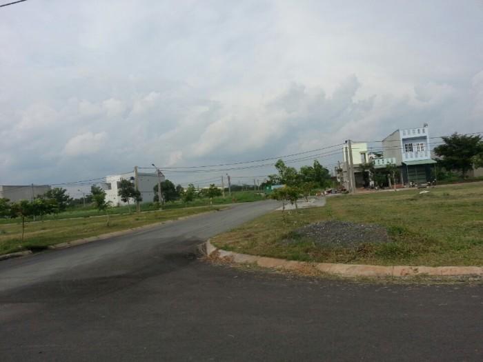 Đất nền 5x20m2, ĐC 683 Bình Tân, mặt tiền QL1, SHR