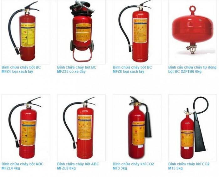 Bình chữa khí co2 MT3, MT5, MT24, nạp sạc bình chữa cháy