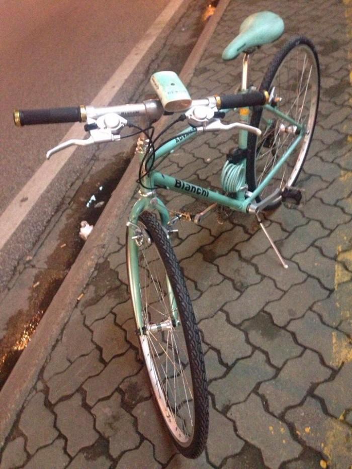 Xe đạp bianchi nhật xịn