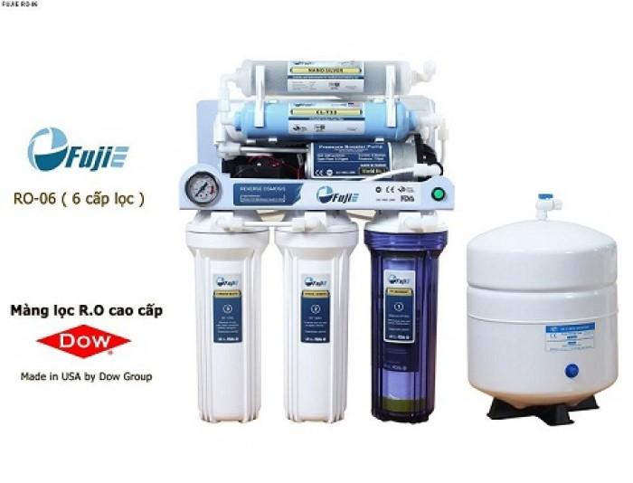 Máy lọc nước tinh khiết Fujie 6 cấp lọc RO 06