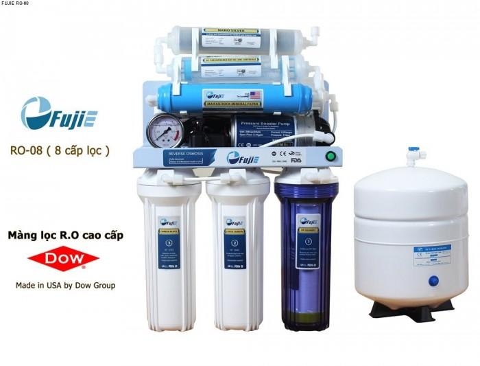 Máy lọc nước tinh khiết Fujie thông minh 8 cấp lọc không tủ RO 08