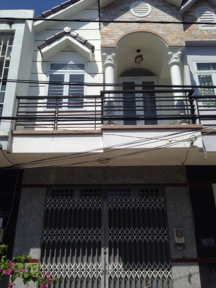 Nhà DT 4x15m, 1 trệt 1 lầu đúc. Hẻm XH trước nhà. Giá 1.65 tỷ