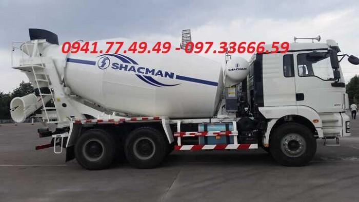 Xe bồn trộn ShacMan 10m3 hàng mới chất lượng nhất