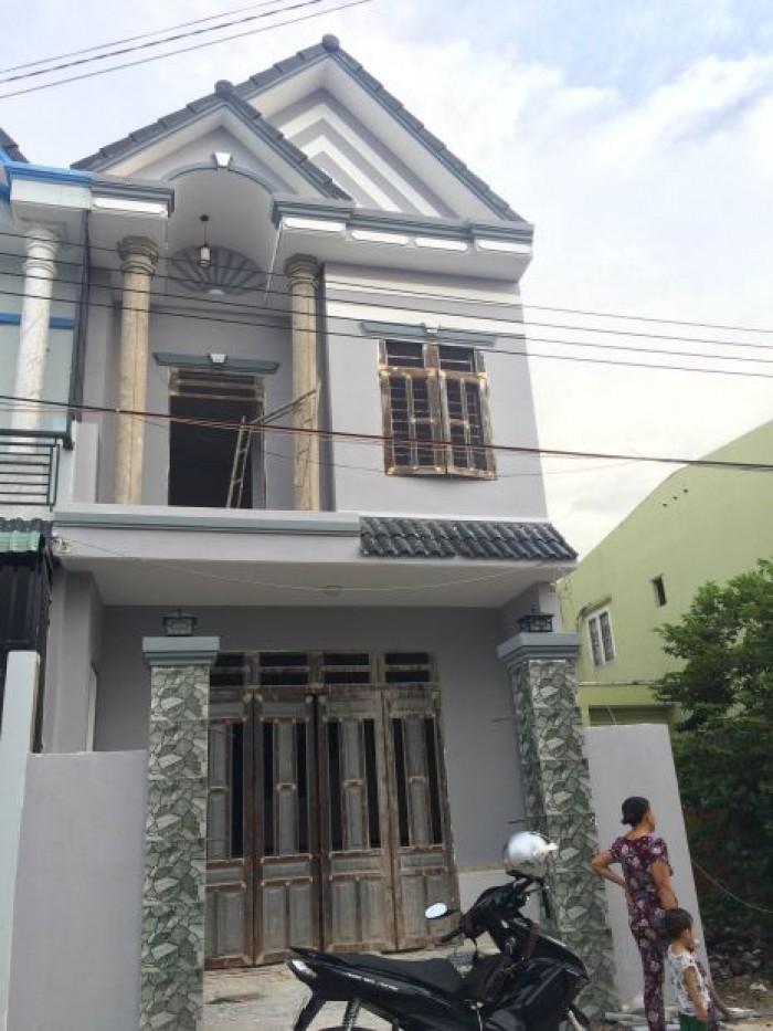 Nhà ở giá rẻ  trung tâm Hóc Môn, cách chợ hóc môn 1km