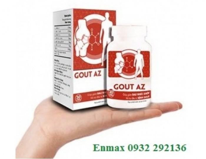 Gout AZ làm tan hạt tophi do gout
