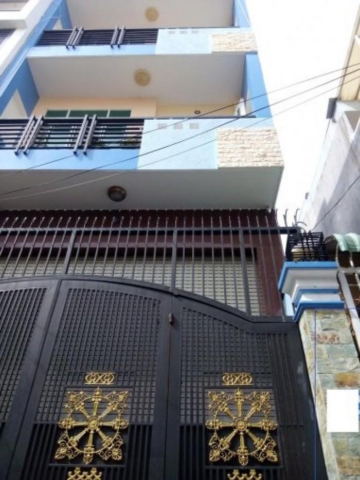 Bán nhà hxh đường Tô Hiến Thành, Q10;DT: 5x20m, 4 lầu, giá 8,2 tỷ