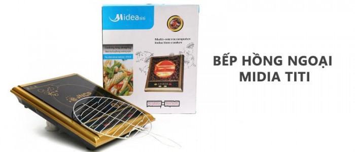 Ưu đãi khi mua bếp hồng ngoại Midea Titi được tặng kèm vỉ nướng - MSN383079