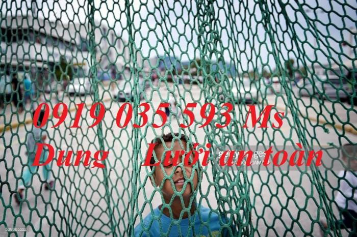 Lưới chắn bóng sân cỏ nhân tạo, lưới 2,7 ly màu xanh ngọc giá sỉ tốt