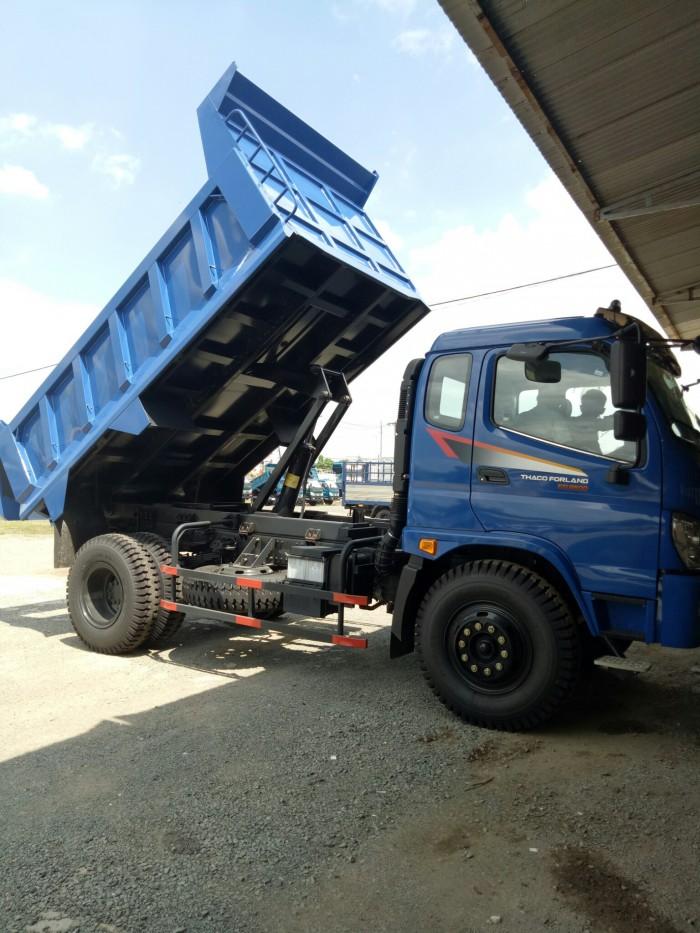 Ben Forland FD9500 tải trọng 9,1 tấn, bán trả góp, ngân hàng hỗ trợ 75% giá trị xe, 4